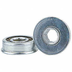 Hex Conveyor Bearing,7/16 In.,1.252 In.