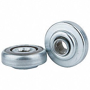 Hex Conveyor Bearing,7/16 In,1.712 In OD