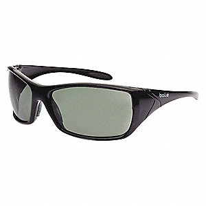 Voodoo Anti-Fog, Scratch-Resistant Safety Glasses, Smoke Lens Color