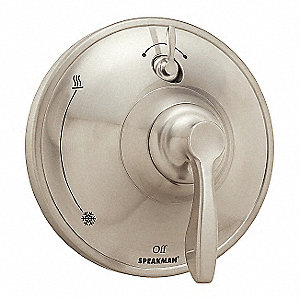 Brushed Nickel Shower Valve