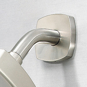 Brushed Nickel Shower Arm, For Use With Universal Fit