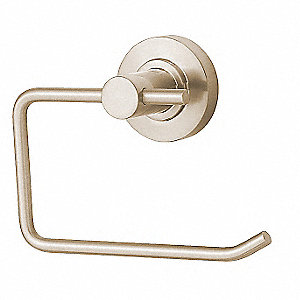 Toilet Paper Holder,Single Post,Zinc