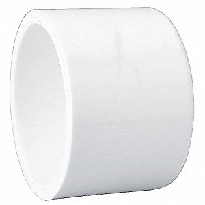 "PVC Cap, Socket, 3"" Pipe Size - Pipe Fitting"