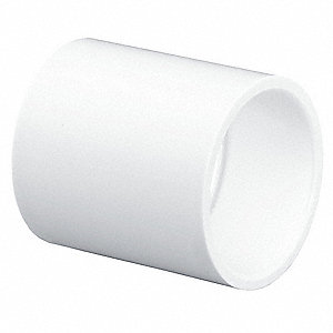 "PVC Coupling, Socket x Socket, 4"" Pipe Size - Pipe Fitting"