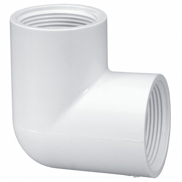 Lasco pvc elbow ° fnpt quot pipe size