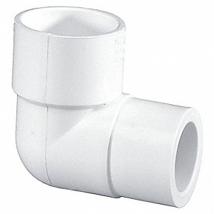 Elbow,90 Deg,PVC,40,3 In.,Slip x FPT