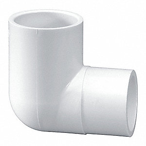 "PVC Street Elbow, 90°, Spigot x Socket, 1-1/4"" Pipe Size (Fittings)"