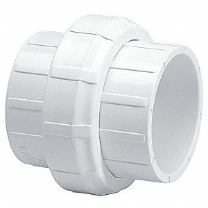 "PVC Union, Socket x Socket, 1-1/2"" Pipe Size (Fittings)"