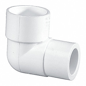 Elbow,PVC,40,1-1/4 In.,Slip x Slip