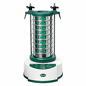 Sieve Shaker,8 In,220VAC,50 Hz,Digital