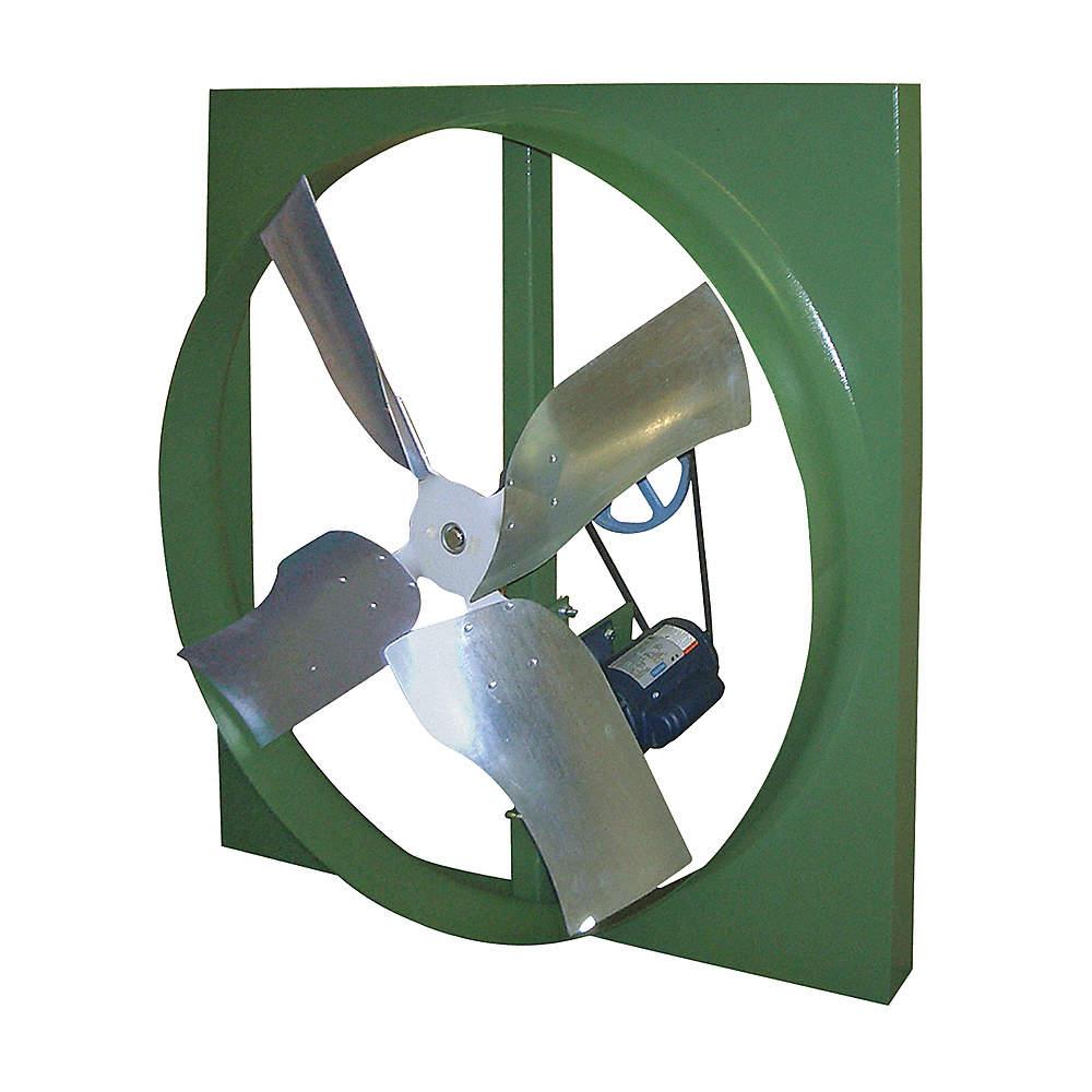 wall exhaust fan 42 belt drive