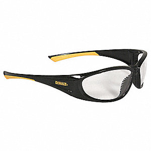 GABLE  Scratch-Resistant Safety Glasses, Clear Lens Color