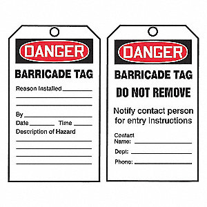QUICKTAGS, DGR BAR,TAGS ONLY,PK100