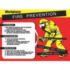 POSTER,FIRE PREVENTION,18 X 24