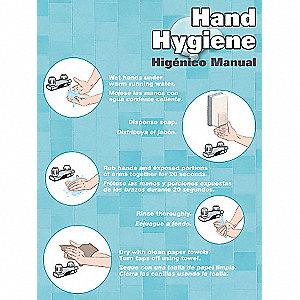 POSTER,HAND HYGIENE,18 X 24