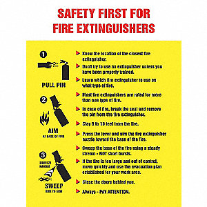 POSTER,SAFETY FIRST,18 X 24
