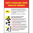 POSTER,SAFETY GUIDELINES,18 X 24