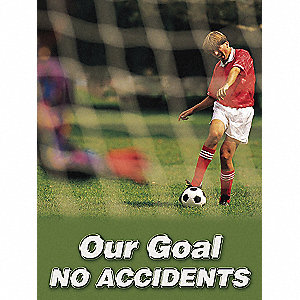 POSTER,OUR GOAL NO,18 X 24