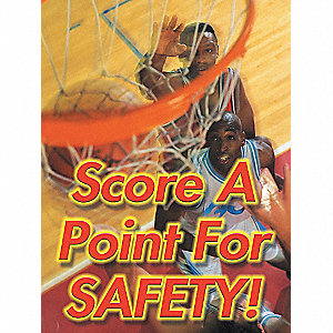 POSTER,SCORE A POINT FOR,18 X 24