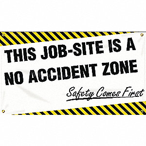 BANNER,THIS JOB-SITE IS,24 X 48