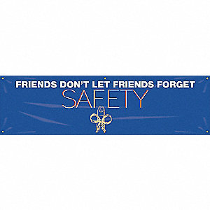 BANNER,FRIENDS DONT LET,28 X 96