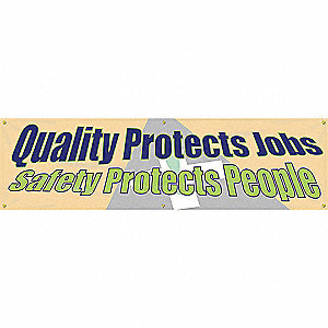 BANNER,QUALITY PROTECTS J,28 X 96