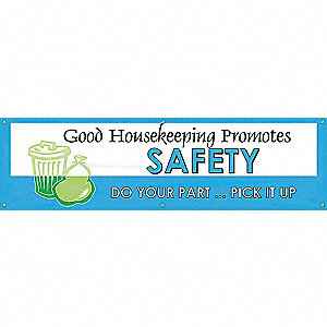 BANNER,GOOD HOUSEKEEPING,28 X 96