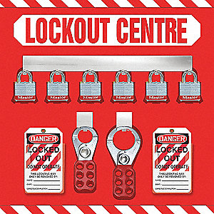 LOCKOUT STORE BOARD,6 LOCK