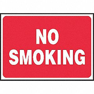 SIGN PAD,10X14,NO SMOKING,PK25