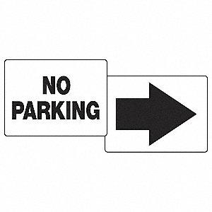 PARKING SIGN,NO PARKING,18 X 24