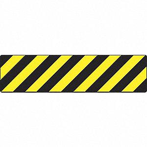 FLOOR SIGN,VINYL W/GRIT,6 X 24