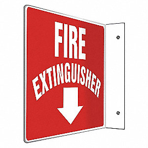 SIGN,FIRE EXTINGUISHER,8X12