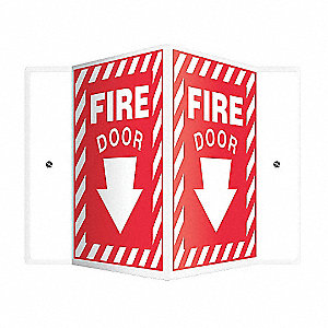 SIGN,FIRE DOOR,12X9