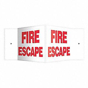 SIGN,FIRE ESCAPE,8X18
