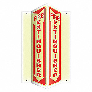 SIGN,FIRE EXTINGUISHER,24X7-1/2
