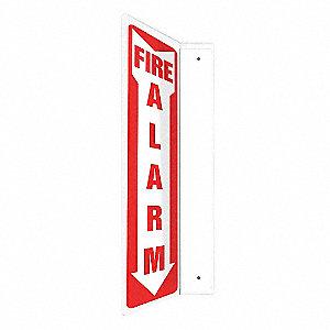 SIGN,FIRE ALARM,18X4