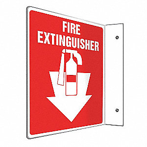 SIGN,FIRE EXTINGUISHER,6X5