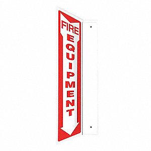 SIGN,FIRE EQUIPMENT,24X4
