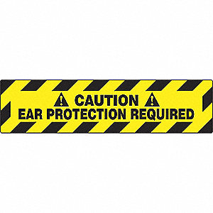 ENSGNE PLANCHR, CAUTION EAR, 6X24