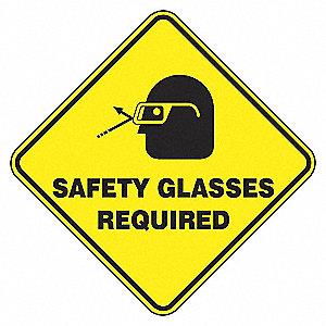 ENS PLCHR,LZNGE17,SFTY GLASS REQD