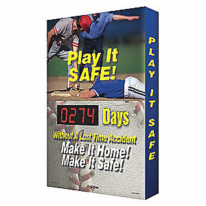 TABLEAU IND., PLAY IT SAFE, 24X36