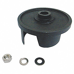 Impeller Repair Kit,  Fits Brand Dayton,  For Use With Grainger Item Number 11A348