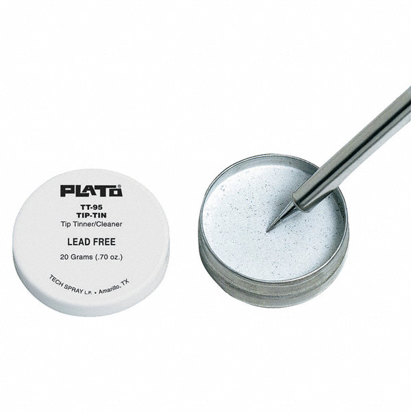 plato tip tinner solder cleaner combo 20 g 22hu66 tt 95 grainger. Black Bedroom Furniture Sets. Home Design Ideas