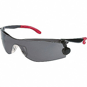 Anti-Fog, Scratch-Resistant Safety Goggles, Gray Lens Color