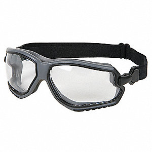 Anti-Fog, Scratch-Resistant Indirect Safety Goggles, Clear Lens
