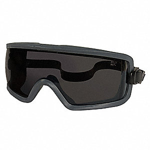 Anti-Fog Protective Goggles, Gray Lens Color