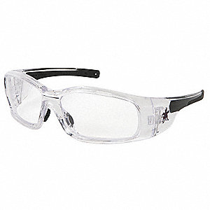 Swagger® Anti-Fog, Scratch-Resistant Safety Glasses, Clear Lens Color