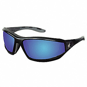 REAPER™ Scratch-Resistant Safety Glasses, Blue Mirror Lens Color