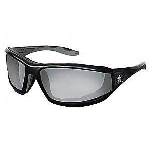 REAPER  Anti-Fog, Scratch-Resistant Safety Glasses, Indoor/Outdoor Mirror Lens Color