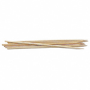 "10"" Bamboo Skewers, Brown; PK1000"